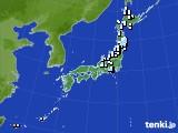 アメダス実況(降水量)(2017年05月15日)