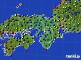 2017年05月15日の近畿地方のアメダス(日照時間)