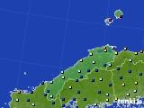 2017年05月16日の島根県のアメダス(日照時間)