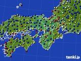 2017年05月17日の近畿地方のアメダス(日照時間)
