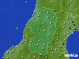 山形県のアメダス実況(風向・風速)(2017年05月19日)