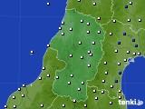 山形県のアメダス実況(風向・風速)(2017年05月29日)