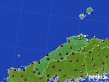 2017年05月30日の島根県のアメダス(日照時間)