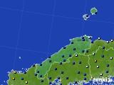 2017年05月31日の島根県のアメダス(日照時間)