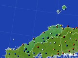 2017年06月01日の島根県のアメダス(日照時間)