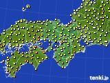 2017年06月08日の近畿地方のアメダス(気温)