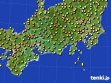 アメダス実況(気温)(2017年06月27日)