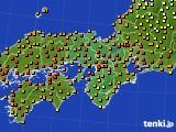 2017年07月01日の近畿地方のアメダス(気温)