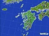 九州地方のアメダス実況(降水量)(2017年07月08日)