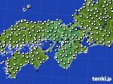 近畿地方のアメダス実況(風向・風速)(2017年07月20日)