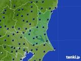茨城県のアメダス実況(日照時間)(2017年07月24日)