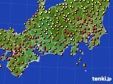 アメダス実況(気温)(2017年07月25日)
