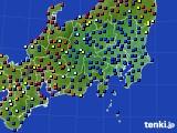 関東・甲信地方のアメダス実況(日照時間)(2017年07月26日)
