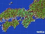 2017年07月31日の近畿地方のアメダス(気温)