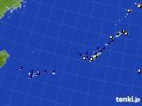 2017年08月05日の沖縄地方のアメダス(風向・風速)