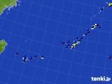 2017年08月06日の沖縄地方のアメダス(風向・風速)