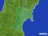 2017年08月22日の宮城県のアメダス(降水量)