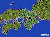 2017年08月23日の近畿地方のアメダス(気温)