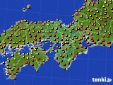 2017年08月26日の近畿地方のアメダス(気温)