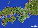 2017年08月28日の近畿地方のアメダス(気温)