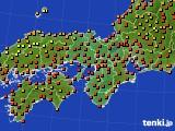 2017年08月29日の近畿地方のアメダス(気温)