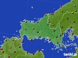 2017年08月30日の山口県のアメダス(気温)