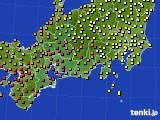 2017年08月31日の東海地方のアメダス(気温)
