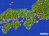 2017年08月31日の近畿地方のアメダス(気温)