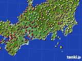 2017年09月01日の東海地方のアメダス(気温)