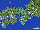 2017年09月01日の近畿地方のアメダス(風向・風速)