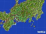 2017年09月02日の東海地方のアメダス(気温)