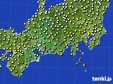 2017年09月28日の東海地方のアメダス(気温)
