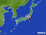アメダス実況(降水量)(2017年10月25日)