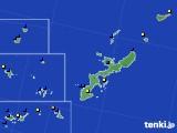 沖縄県のアメダス実況(風向・風速)(2017年10月27日)