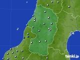 2017年11月24日の山形県のアメダス(降水量)