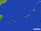 沖縄地方のアメダス実況(風向・風速)(2017年11月27日)