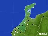石川県のアメダス実況(降水量)(2017年11月30日)