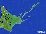 道東のアメダス実況(積雪深)(2017年11月30日)