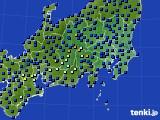 関東・甲信地方のアメダス実況(日照時間)(2017年11月30日)