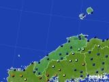 島根県のアメダス実況(日照時間)(2017年11月30日)