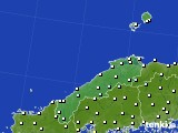 島根県のアメダス実況(気温)(2017年11月30日)