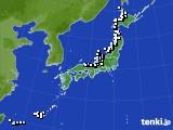 2017年12月01日のアメダス(降水量)