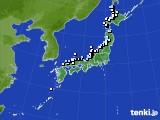 アメダス実況(降水量)(2017年12月06日)