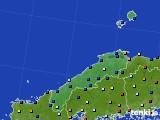 島根県のアメダス実況(日照時間)(2017年12月17日)