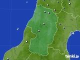 2017年12月25日の山形県のアメダス(降水量)