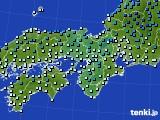 アメダス実況(気温)(2017年12月28日)