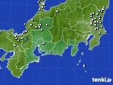 東海地方のアメダス実況(降水量)(2017年12月31日)