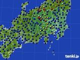 関東・甲信地方のアメダス実況(日照時間)(2017年12月31日)