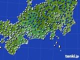 アメダス実況(気温)(2017年12月31日)