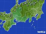 東海地方のアメダス実況(降水量)(2018年01月03日)